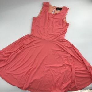 Cynthia Rowley Fit & Flare Dress sz L